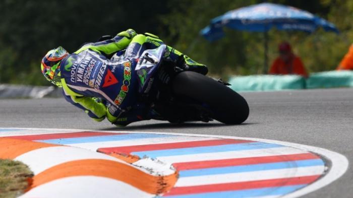 Rossi Yakin Naik Podium di Sirkuit Silverstone