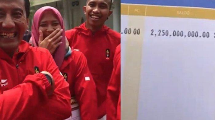 Bahagianya Para Atlet Indonesia Peraih Medali Emas saat Terima Bonus Miliaran Rupiah