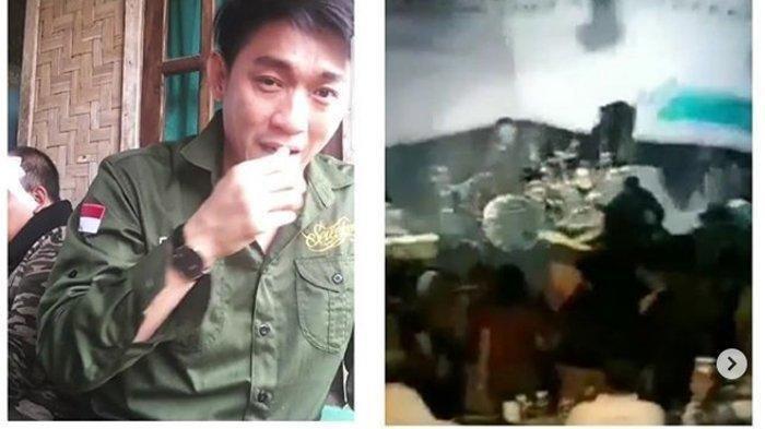 Video Viral Detik-detik Panggung Seventeen Band Roboh Diterjang Tsunami