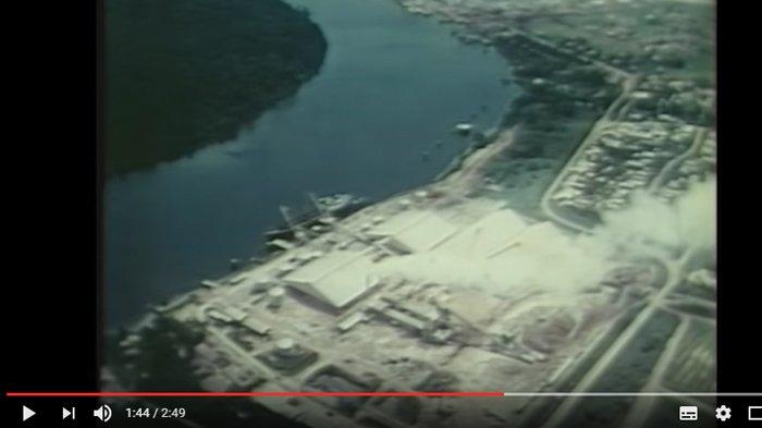 Sejarah Belitung - Ini Video Jadul Manggar, Pulau Kalimuak, dan Jam Gede