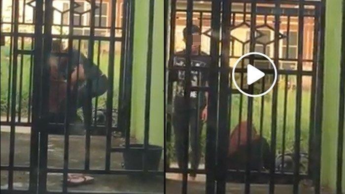 Video Pria Ngamuk dan Banting Motor di Depan Pacar,