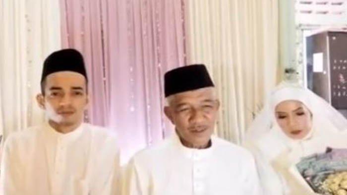 Kakek Ini Dikira Wali Nikah, Ternyata Dia yang Menikah dengan Gadis Muda