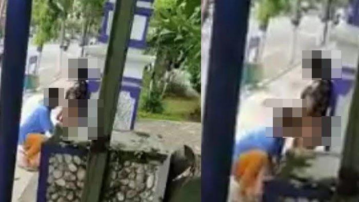 Wanita Ini tak Melawan Saat Ditelanjangi di Pinggir Jalan, Videonya Viral di Media Sosial