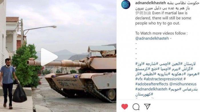 Video Pria Ditodong Tank Saat Buang Sampah ini Viral, Ternyata Begini Ceritanya