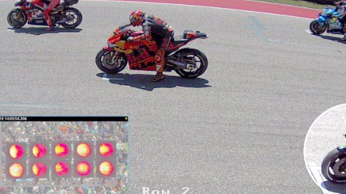 Biang Kerok Maverick Vinales Jump Start di MotoGP Amerika