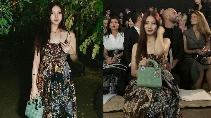 Bae Suzy Pakai Dress Mirip Batik di Paris Fashion Week, Netter Bangga, Ini Faktanya