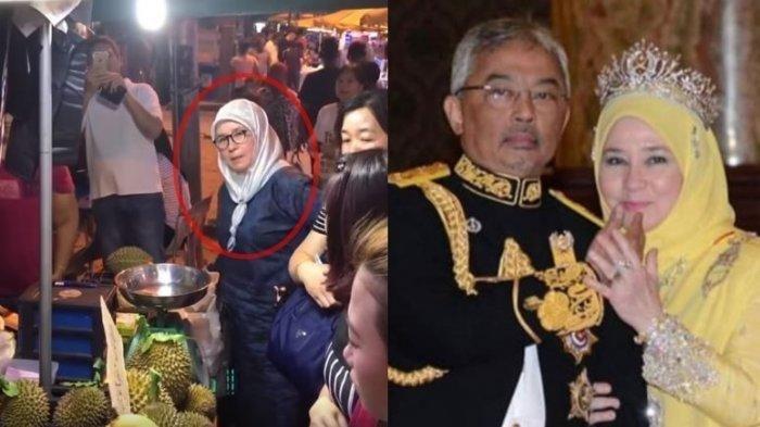 Penjual Durian di Pinggir Jalan sampai Gemetaran, Tak Sadar Pembeli yang Antre Ternyata Istri Raja