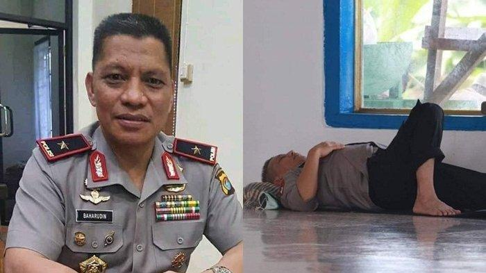 VIRAL Foto Irjen Pol Baharuddin Djafar Tertidur di Masjid, Ini Sosok Kapolda Maluku yang Bikin Kagum