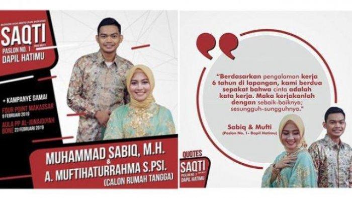 Undangan Pernikahan Unik ini Mirip Paslon Kampanye Hingga Bikin di Baliho