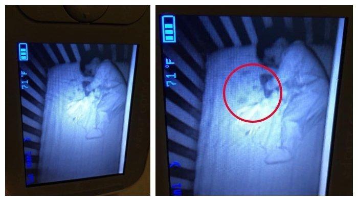 Pasang CCTV di Kamar Anaknya, Ibu Ketakutan Lihat Ada Wajah Bayi Lain di Samping Bayinya