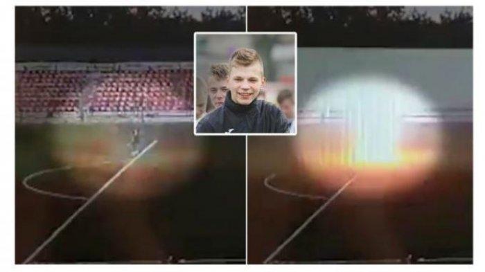 Ivan Zaborovsky, Kiper 16 Tahun Asal Russia Tersambar Petir Saat Latihan, Badannya Diselimuti Asap