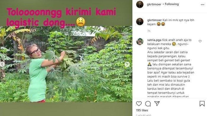 Keraton Solo Angkat Bicara Soal Video Viral Putri Raja Dikurung dan Petik Daun Ubi Makan