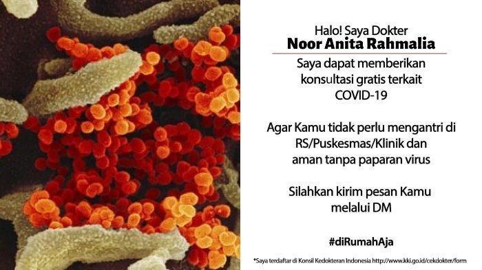 Gara-gara Cuitan Dokter di Kalimantan Selatan Ini, Ribuan Netizen Konsultasi Gratis Soal Corona