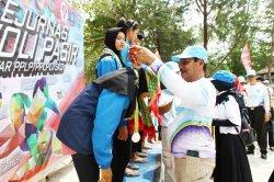 Kejurnas Voli Pasir Antar PPLP 2019 di Tanjungpendam Belitung Berlangsung Sukses, Penonton Antusias