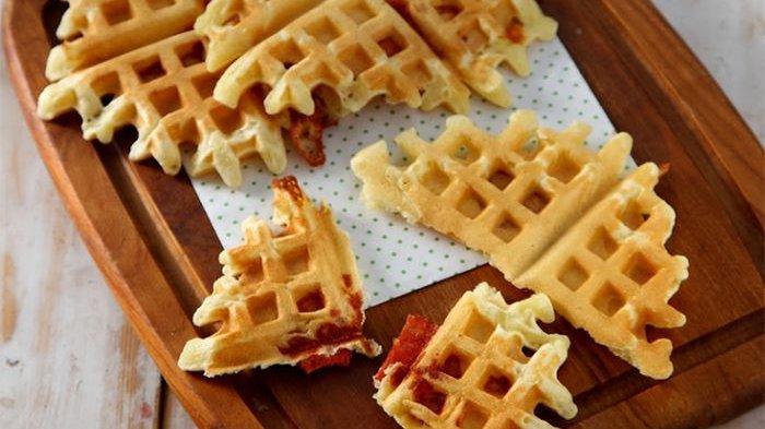 Waffle Cheese And Beef Bikin Sarapan Jadi Spesial, Yuk Praktekkan Resepnya!