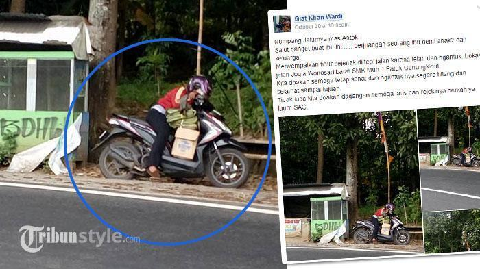 Foto Perempuan Ini Jadi Viral, Ternyata Ini yang Dilakukannya?