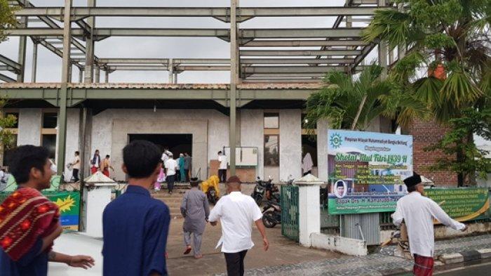 Pangkalpinang Diguyur Hujan, Salat Id di ATM Dialihkan ke Masjid-masjid Terdekat