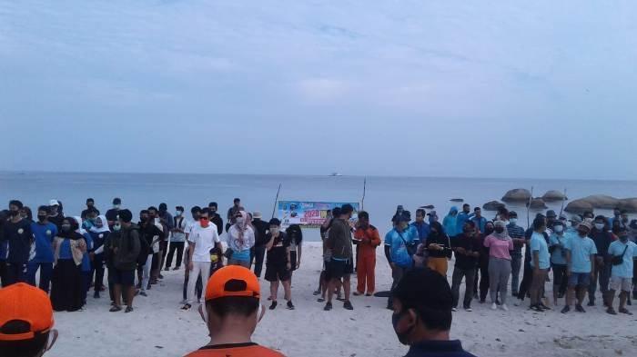 WCD 2020 di Pantai Tanjungtinggi, PT PJB PLTU Belitung Ajak Semua Elemen Peduli Lingkungan Pesisir