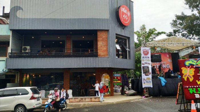Grand Opening What's Up Cafe Tempat Nongkrong Milenial Belitung