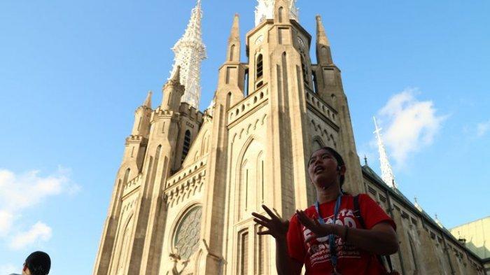 Gereja Katedral Jakarta Tak Hanya Tunjukan Cinta Tuhan Yesus, Juga Pancasila dan Indonesia