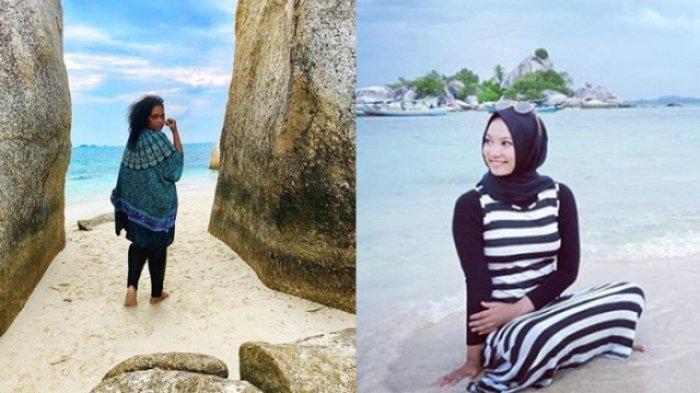 Inilah Potret Para Wisatawan Nusantara di Pulau Belitung, dari Warga Aceh Sampai Papua