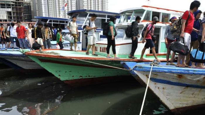12 Wisatawan Terdampar di Tengah Laut Saat Datangi Kepulauan Seribu