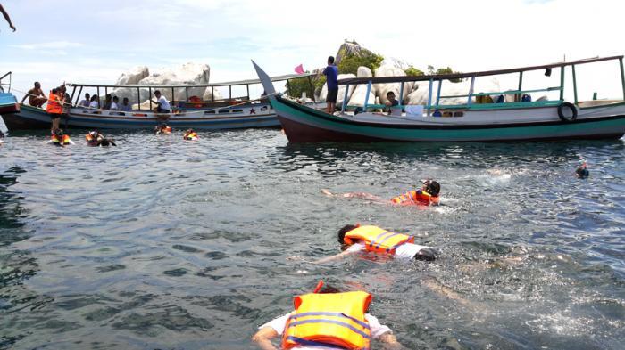Gelar Uji Kompetensi Sertifikasi, HPI Belitung Timur Tingkatkan Kualitas Pemandu Wisata Snorkeling