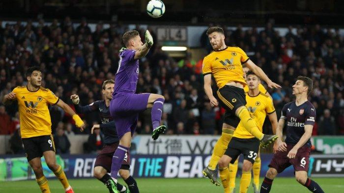 The Gunners Diterkam Wolves, Peluang Masuk Empat Besar Klasemen Kandas