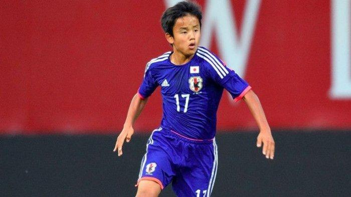 Takefusa Kubo 'Messi' dari Jepang Resmi Gabung Real Madrid