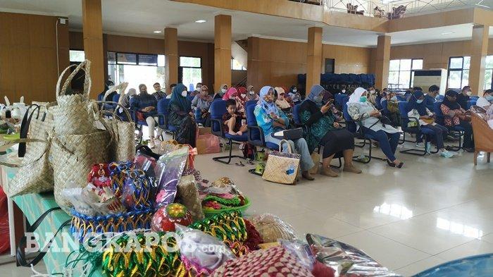 Masata Gelar Workshop Pameran UMKM dan Produk Desa Wisata Khas Pulau Belitung