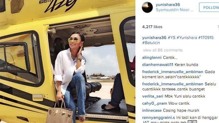 Unggah Foto, Netizen Puji Kecantikan Yuni Shara, Tapi Bagian Ini Dibilang Kegedean