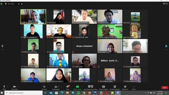 Webinar Ketapang, Berbagi Informasi Ketahanan Pangan Lokal Belitung