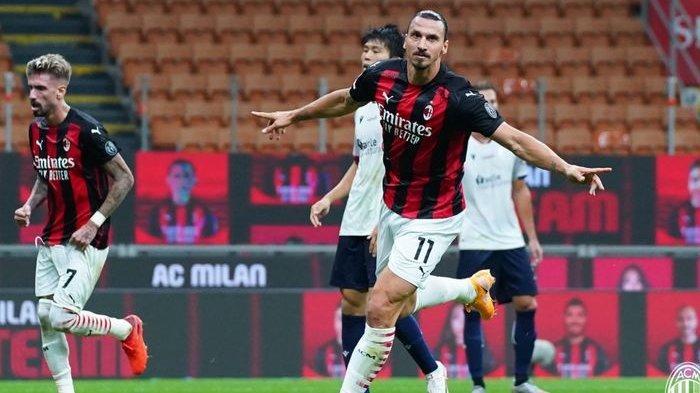 Inter Milan Vs AC Milan, Pelatih Pioli Pastikan Ibrahimovic Siap untuk Laga Derbi della Madonnina