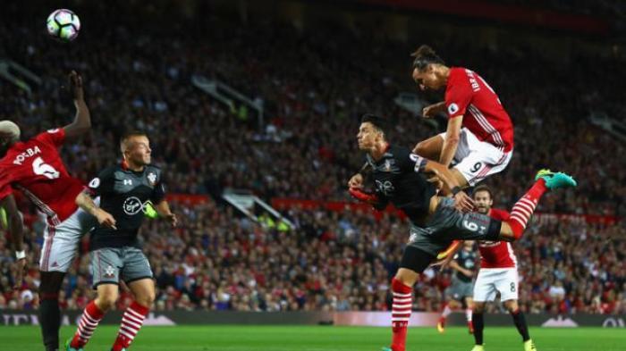 Zlatan Ibrahimovic Bisa Hatrik ke Gawang Southtampton, Kalau Pogba Lakukan Ini