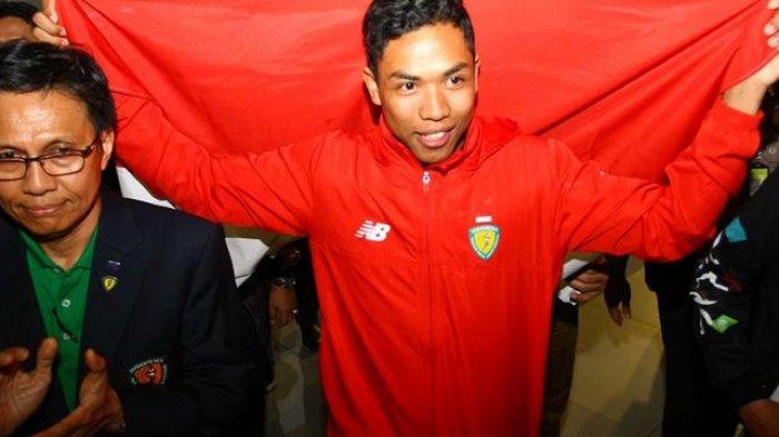 Muhammad Zohri Lolos ke Semifinal Lari 100 Meter