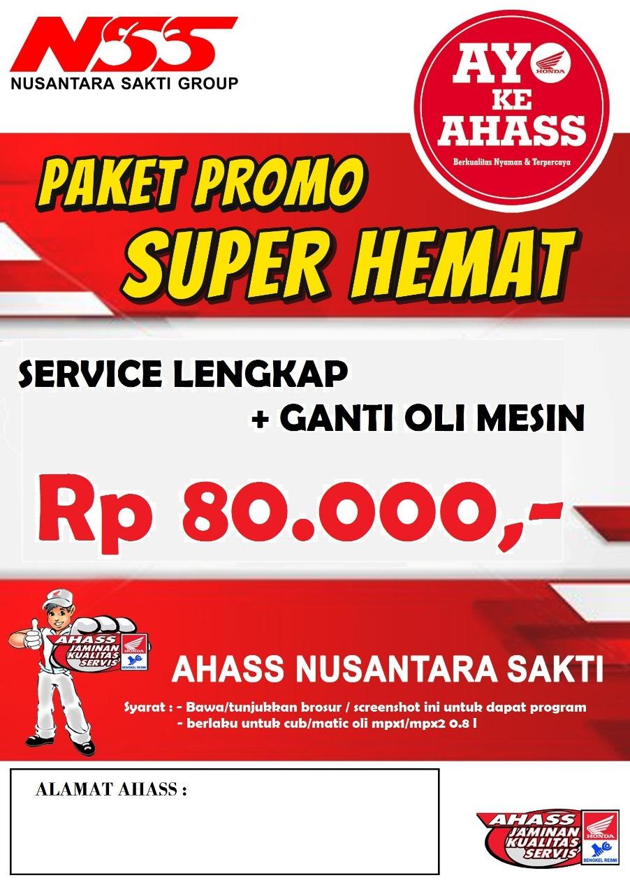 Promo Super Hemat 80.000