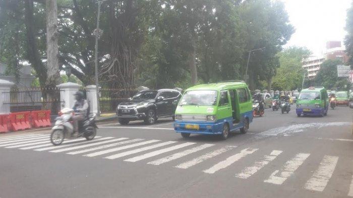Lalu Lintas Jalur SSA Kota Bogor Senin Menjelang Siang Masih Lancar