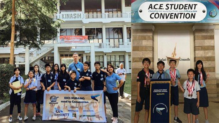 Lomba Student Covention di Bogor, Excellent Spirit Christian School Kupang Boyong 15 Medali