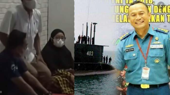 2 Hari Tangisi Suami, Istri Kolonel Harry Kuatkan Keluarga Korban KRI Nanggala : Sudah Takdir Tuhan