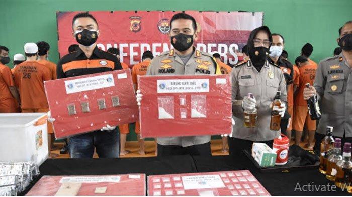Operasi Antik Lodaya 2020 Polres Bogor, 52 Tersangka Kasus Narkoba Diringkus, 2 Masih Remaja