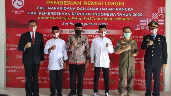 770 Warga Binaan Lapas Cibinong Terima Remisi HUT ke-75 RI, 17 di Antaranya Bebas