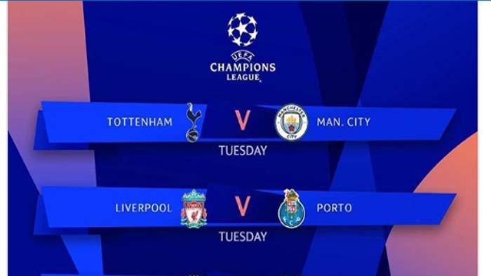 Video Live Streaming Liga Champions Babak 8 Besar di RCTI: Tottenham vs Man City, Liverpool vs Porto