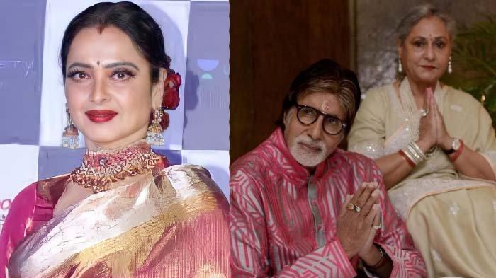 8 tahun selingkuhi Amitabh Bachchan dari istri Jaya Bachchan, Rekha dapat karma pedih