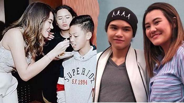 Aaliyah Massaid Suapi Dul Jaelani Kue Ulang Tahun, Maia Estianty Respon Pakai Gambar Tiga Hati