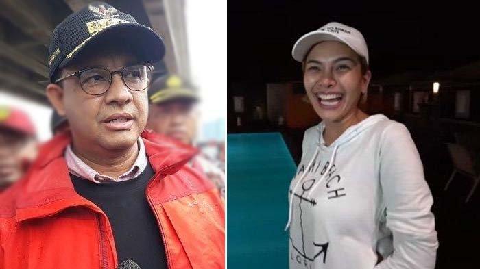 Nikita Mirzani Sentil Pernyataan Anies Baswedan soal Banjir : Ini Gubernurku, Mana Gubernurmu ?