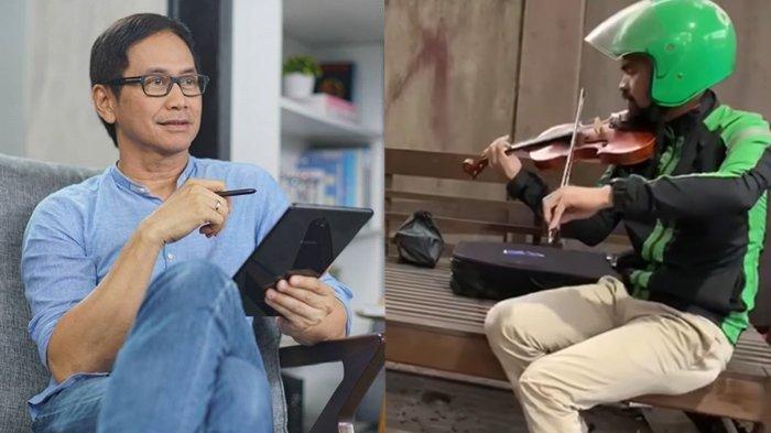 Viral Video Driver Ojol Jago Main Biola, Addie MS Ingin Bertemu: Ayo Latihan ke Twilite Orchestra