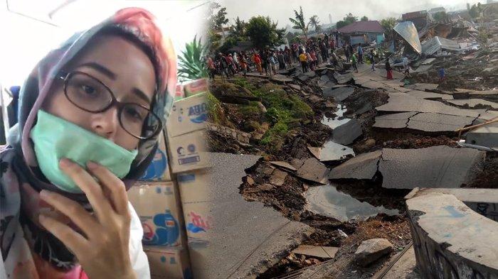 Adelia Pasha Cerita Keadaan Terkini Korban Gempa Tak Lagi Kondusif, 'Masyarakat Mulai Marah-marah'