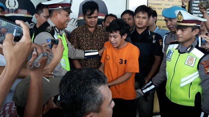 Adi Saputra, Pria Ngamuk di Serpong Dijerat Pasal Penadahan, Cuma Bisa Nangis depan Polisi