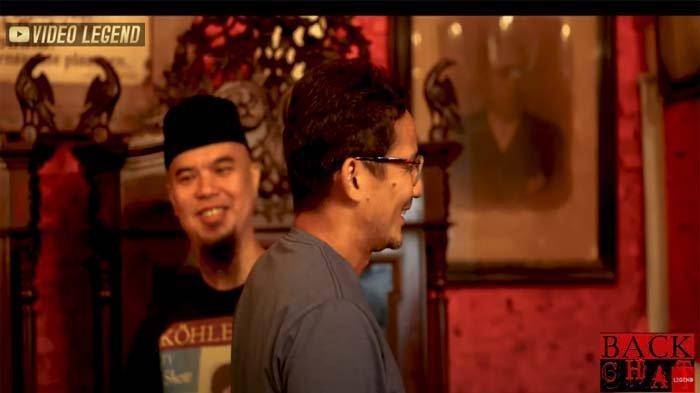 Ahmad Dhani Cerita soal Artis yang Naksir Padanya Tapi Ogah Dipoligami, Sandiaga Uno: Siapakah Dia ?