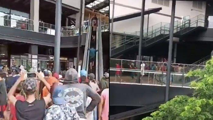 Dituduh Jadi Penyebab Banjir, AEON Mall JGC Digeruduk Warga, Videonya Viral di Media Sosial
